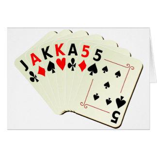 Cartões JAKKA55
