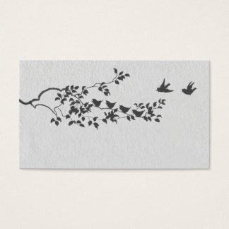 Cartões minimalistas preto e branco do lugar dos