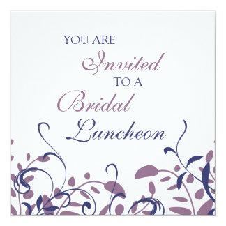 Cartões nupciais do convite do almoço dos