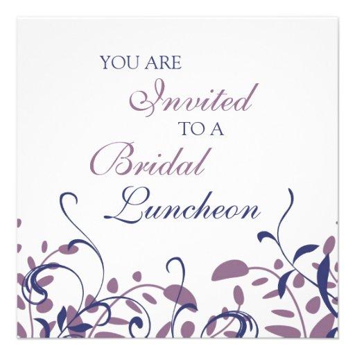 Cartões nupciais do convite do almoço dos redemoin