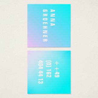Cartões Pastel do artista do inclinação do verão