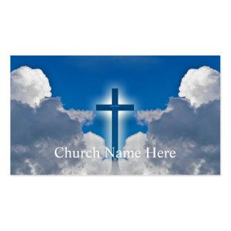 Cartões pastorais dos cleros da informação da cartão de visita