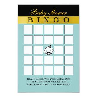 Cartões pequenos bonitos do Bingo do chá de Convite 8.89 X 12.7cm