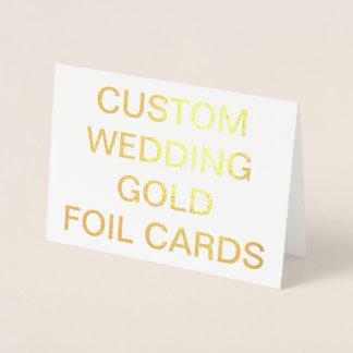 Cartões personalizados 7x5 Wedding feitos sob