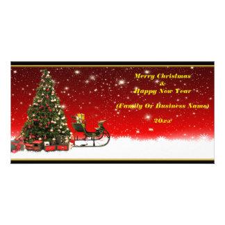 Cartões personalizados do Natal