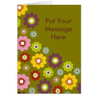 Cartões personalizados - flores