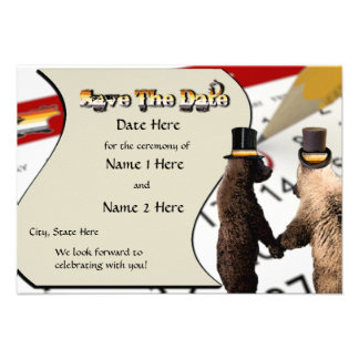 Cartões salve a data alegres do casamento ou da ce convite