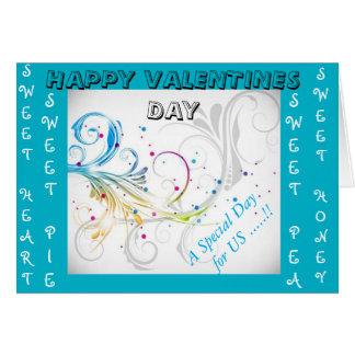cartões sazonais do dia dos namorados
