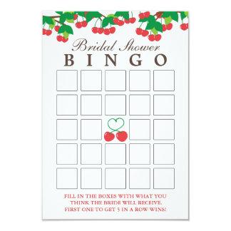 Cartões simples do Bingo do chá de panela das Convite 8.89 X 12.7cm