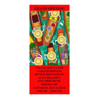 Cartões TEMÁTICOS da cremalheira da COMIDA GR8 ASI Planfetos Informativos Coloridos