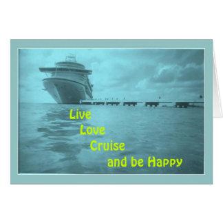 Cartões vivos do cruzeiro do amor      …