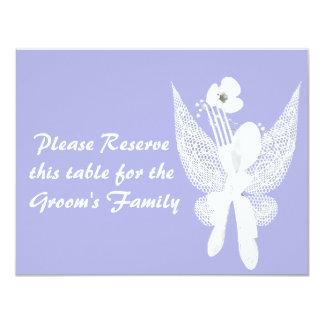 Cartões Wedding do lugar da mesa Convites Personalizado