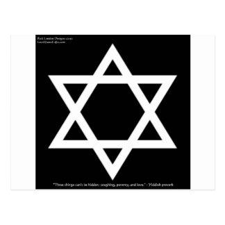 Cartões Yiddish famosos das canecas das camisetas
