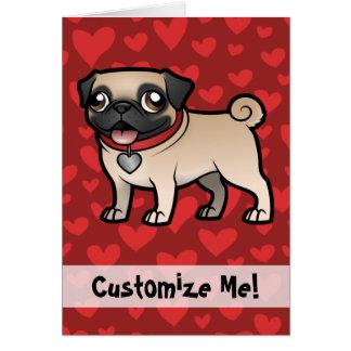 Cartoonize meu animal de estimação cartão comemorativo