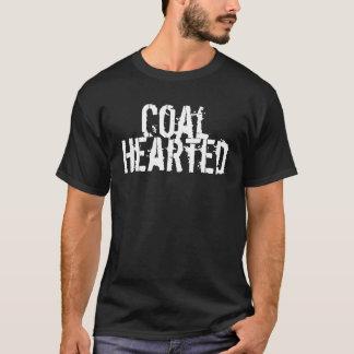 Carvão Hearted Camiseta