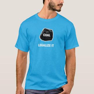 Carvão - legalize-o camisa