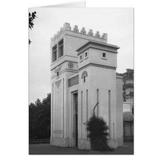 Casa Assyrian, exposição universal, Paris Cartoes