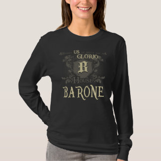 Casa BARONE. Camisa do presente para o aniversário