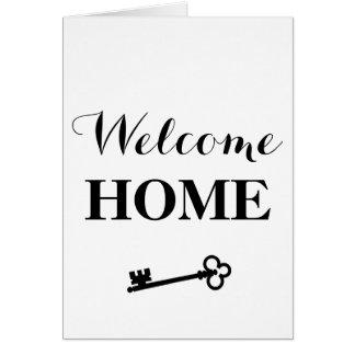 Casa bem-vinda! Cartão