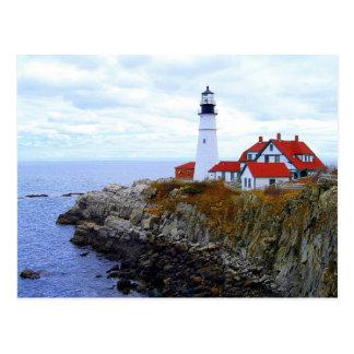 Casa clara principal de Portland, Maine, cartão