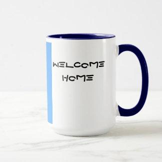 Casa da boa vinda da caneca da galáxia C-5