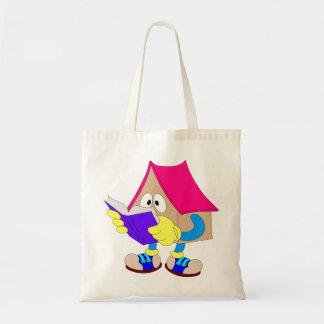 Casa da leitura bolsa para compra