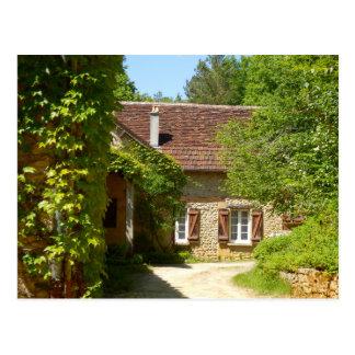 Casa da quinta e cartão franceses de Gite