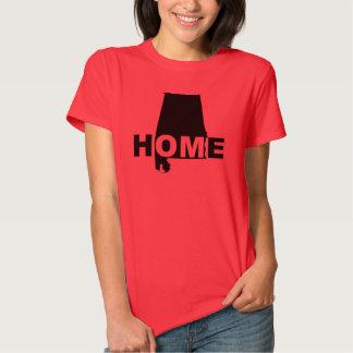 Casa de Alabama longe das camisetas do t-shirt do