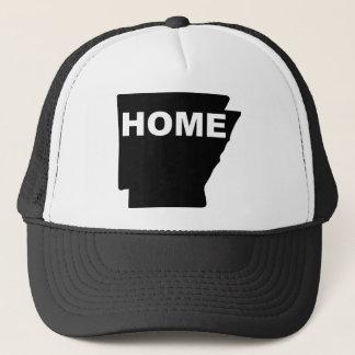 Casa de Arkansas longe do chapéu do boné da bola