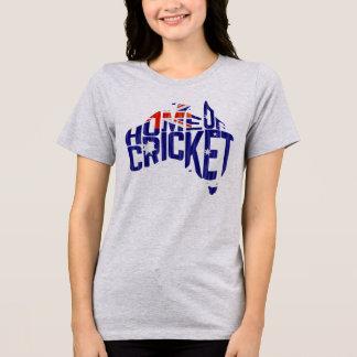 Casa de Austrália da camiseta do mapa do grilo