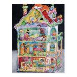 Casa de boneca mágica cartao postal