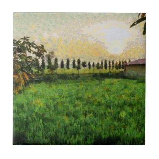 Casa de campo e fazenda