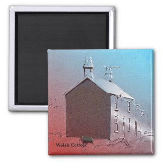 Casa de campo Grâ Bretanha de Galês Ímã Quadrado