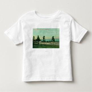 Casa de guarda, opinião dos funcionarios da camiseta infantil