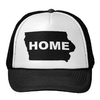 Casa de Iowa longe do chapéu do boné da bola do