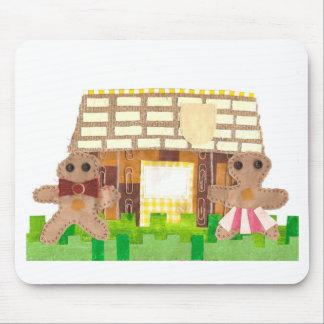Casa de pão-de-espécie Mousepad