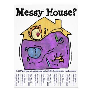 Casa desarrumado? Insecto Panfletos Personalizado