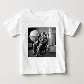 Casa do branco do vintage do presidente Teddy Camiseta