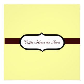 Casa do café convite