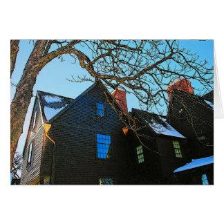 Casa do cartão de sete frontões