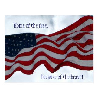 Casa… do cartão livre do dia de veteranos
