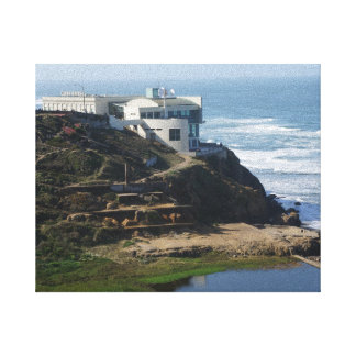 Casa do penhasco - San Francisco, canvas de CA