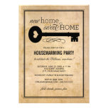 Casa doce Home nova do partido | do Housewarming Convites