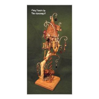 """""""Casa feericamente"""" pelo Kuriologist Cartão Com Foto"""