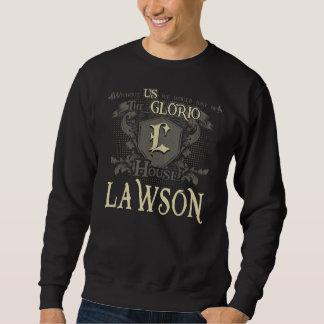 Casa LAWSON. Camisa do presente para o aniversário