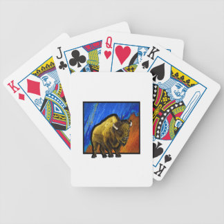 Casa na escala baralhos para poker