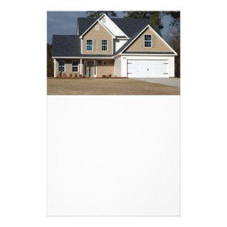Casa nova para a venda panfleto personalizado