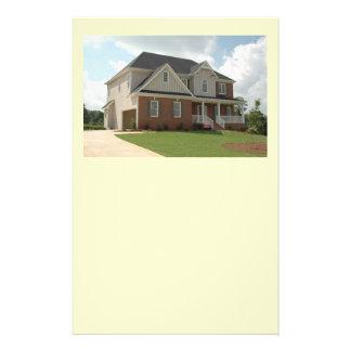 casa nova para a venda panfletos personalizado