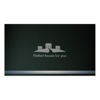 Casa perfeita do corretor de imóveis | cartão de visita