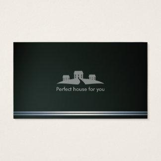 Casa perfeita do corretor de imóveis | cartão de visitas